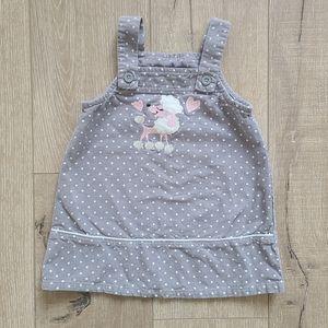 (3/$15) Toughskins Polka Dot Poodle Dress